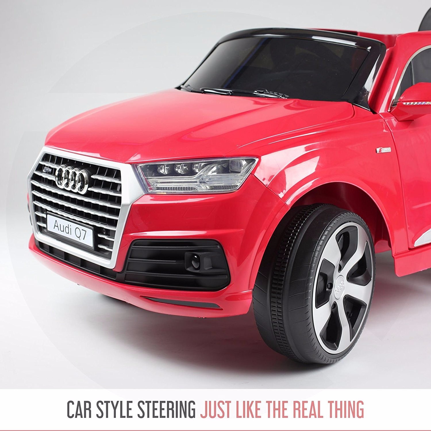 getbest audi q7 battery operated ride on car for kids. Black Bedroom Furniture Sets. Home Design Ideas